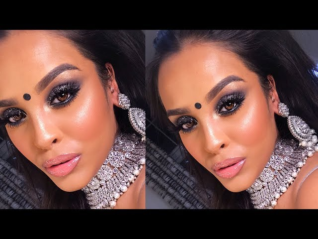 INDIAN GLAM MAKEUP USING ALL NEW MAKEUP PRODUCTS| NikkisSecretx