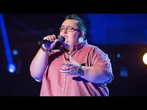John Rafferty performs Take Me Home, Country Roads  The Voice UK 2014: Blind Auditions 6  BBC