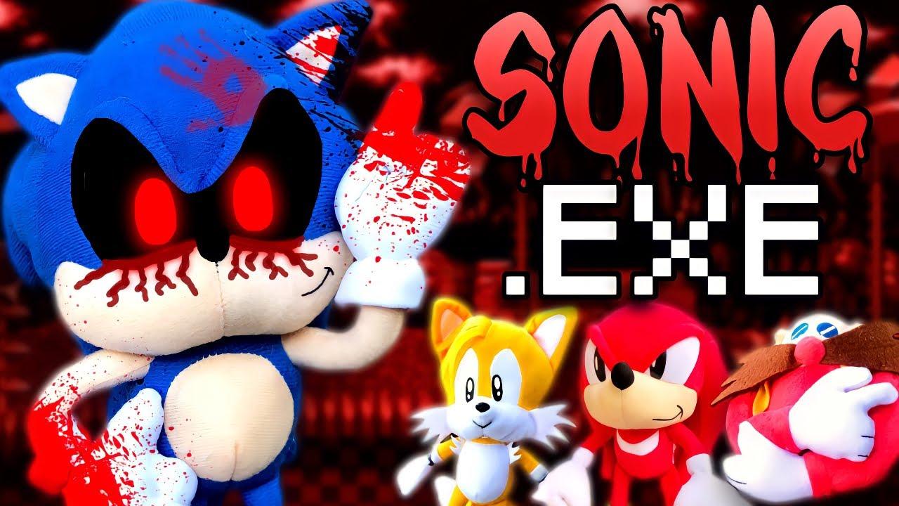 Sonic Exe Plush Edition Youtube