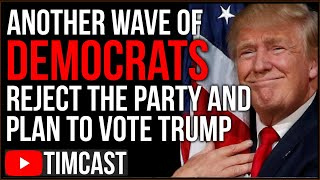 Another Wave Of Democrats QUITTING Party And Plan To Vote Trump, Democrats REFUSE To Heed Warnings