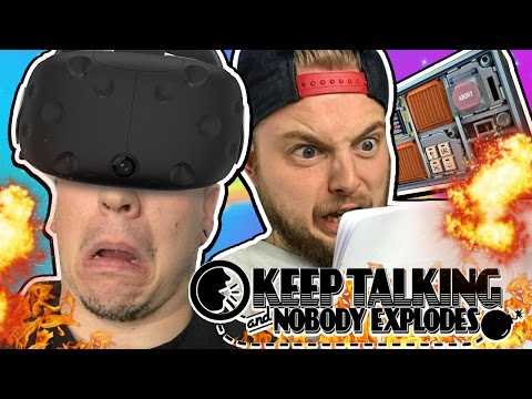 HOW NOT TO DISARM A BOMB IN VR?! W/AshDubh