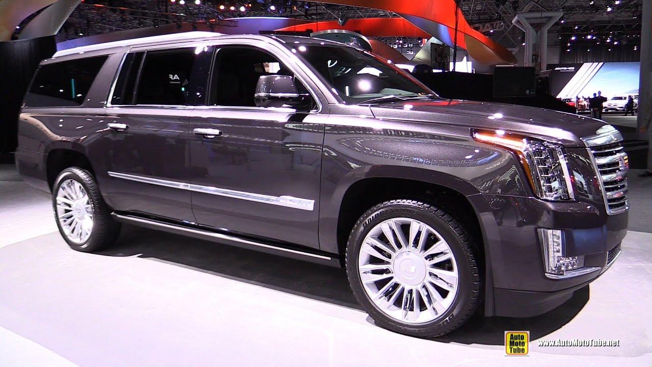 2016 Cadillac Escalade Platinum - Exterior and Interior ...