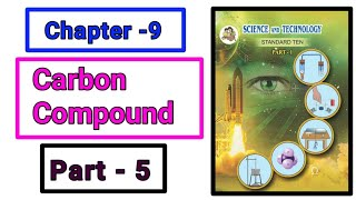 Part-5 ch-9th carbon compound science class 10th new syllabus maharashtra board | carbon bonding |