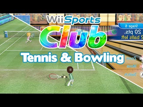 Let's Show Wii Sports Club Tennis & Bowling Overview