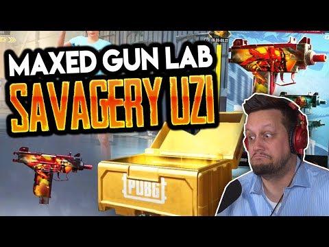 MAXED SAVAGERY UZI - NEW GUN LAB
