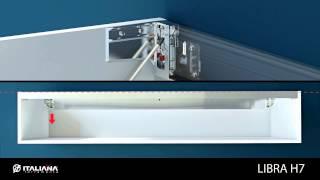 Libra H7 Cabinet Hanger - Italiana Ferramenta