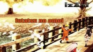 [ KARAOKE ] Naruto OP9 - Yura ( instrumental + lyrics )