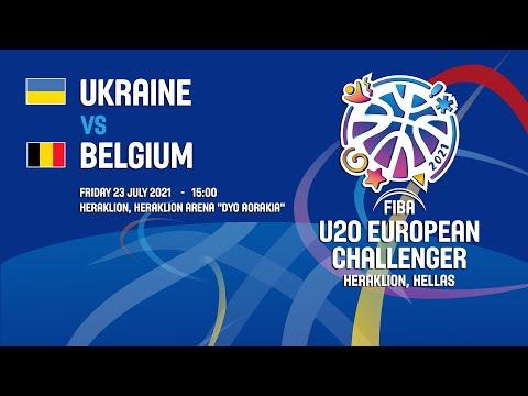 Ukraine - Belgium | 23/07/2021 - FIBA U20 European Challenger 2021