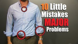 10 Minor Style Mistakes That Are A MAJOR Problem! thumbnail