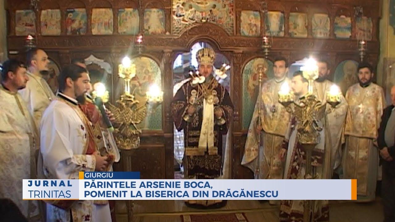Părintele Arsenie Boca, pomenit la biserica din Drăgănescu