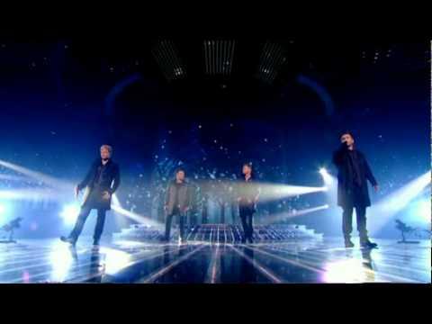 Westlife - Safe Performance Live on X Factor Results Show 14/11/10 HQ