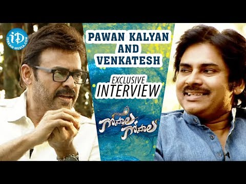 Pawan Kalyan and Venkatesh Exclusive Interview | Gopala Gopala Power Full Victory