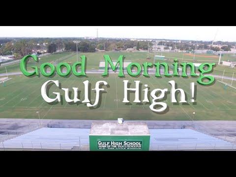 Gulf High Morning News - 1/8/19