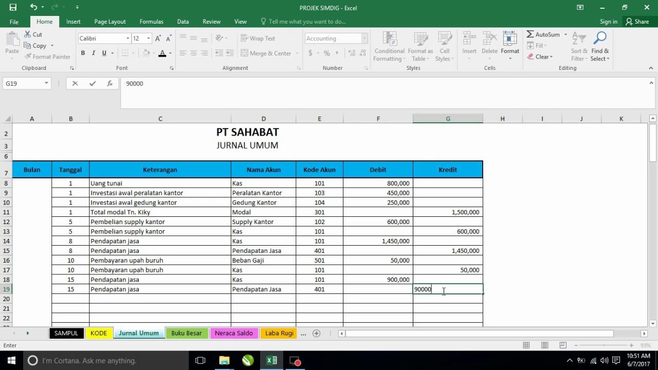 Download Aplikasi Keuangan Sekolah Excel Gratis