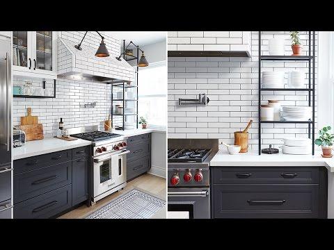 INTERIOR DESIGN: A Bright Bistro Kitchen With Gorgeous Graphic Accents