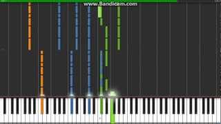 Green Day-Holiday piano synthesia