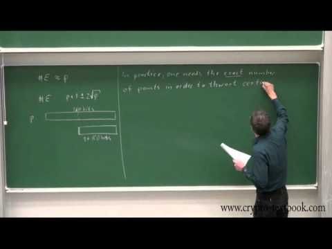 Lecture 17: Elliptic Curve Cryptography (ECC) by Christof Paar