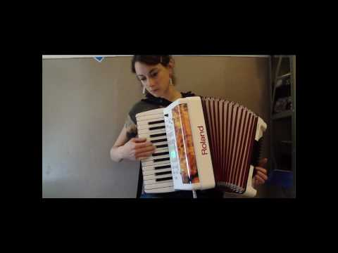 FR1 - Roland FR-1 White V-Accordion