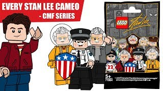 EVERY Stan Lee MCU Cameo LEGO CMF Series