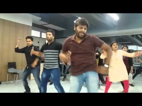 My first FLASHMOB @ IBM