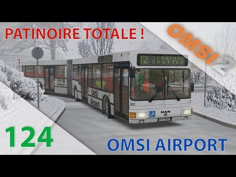 [OMSI 2] Episode n°124 : MAN A11 NG272 ZF | Patinoire totale à l'aéroport !