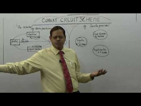 Cenvat credit Scheme II