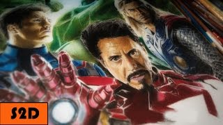 Drawing The Avengers