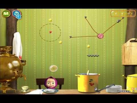 Видео Игра маша и медведь играть онлайн
