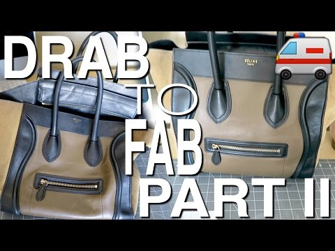 """FIX MY CELINE EP. 2 - REMOVING PEN AND DIRT STAINS ON SUEDE """"WINGS"""""""