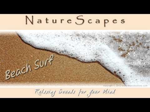 🎧 WAVES ON A SANDY BEACH... Take a relaxing stroll along a sandy beach