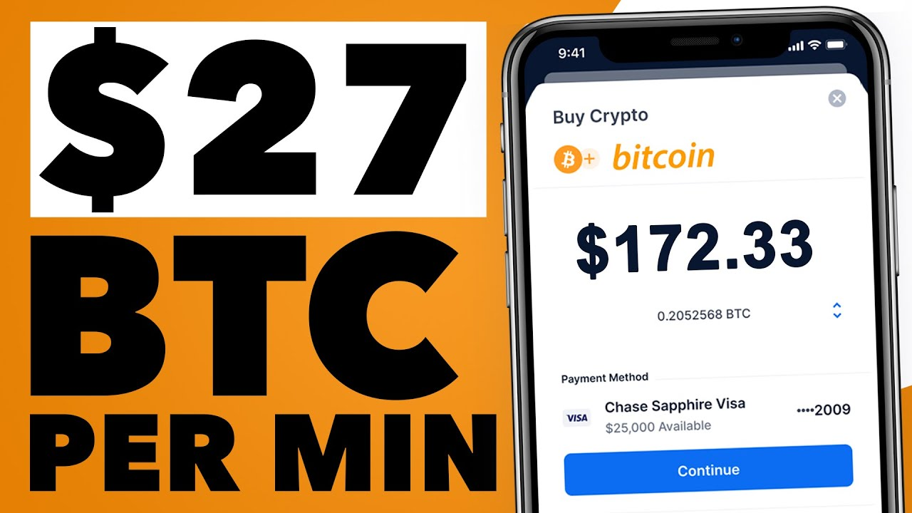 Make $27 Bitcoin EVERY 5 MINUTES   Simple Way To Make BTC For FREE
