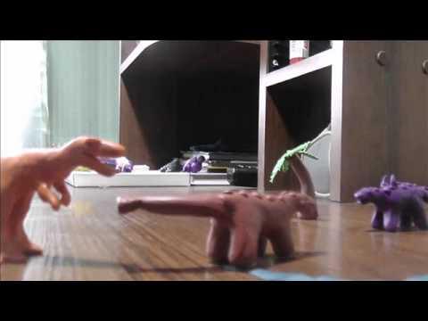 Mangolia;Tarbosaur vs Ankylosaur