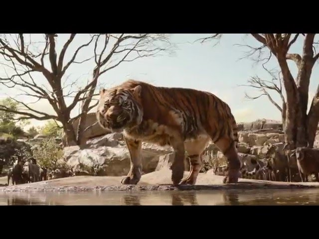 THE JUNGLE BOOK Official Trailer #2 (Super Bowl Spot) 2016