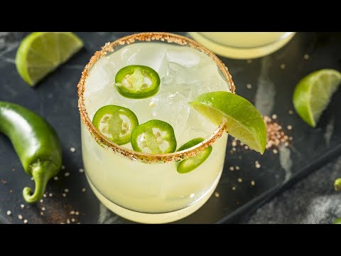 How To Make Cucumber Jalapeño Margaritas | John Cusimano #StayHome