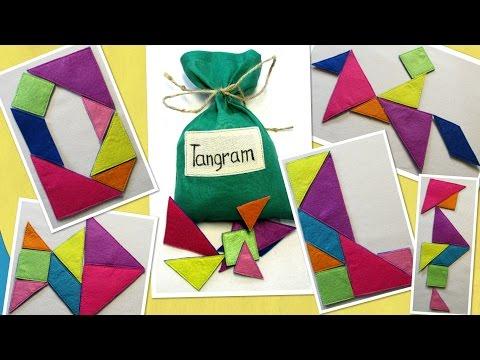 Танграм схемы 7 хитроумных фигур