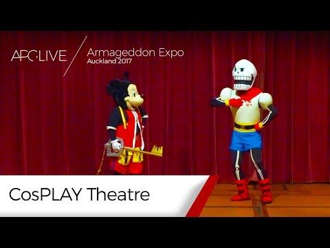 Armageddon Expo 2017: Auckland - CosPLAY Theatre [#APGLive]