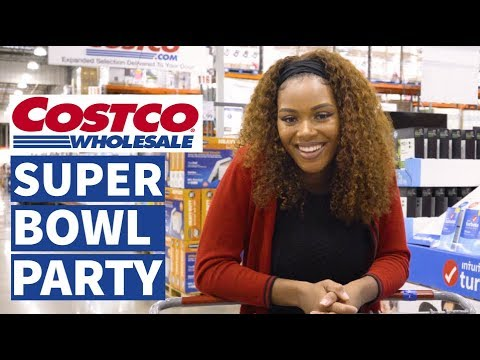CHEAP & EASY Super Bowl Party Food Ideas From Costco