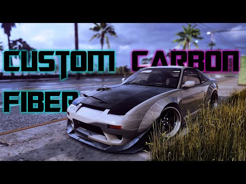 How to Make Custom Carbon Fiber | Need For Speed Heat