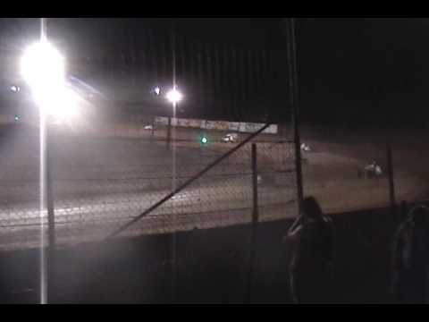 Racing White Sands Speedway Tularosa NM 07 04 2009 Heat Race 2