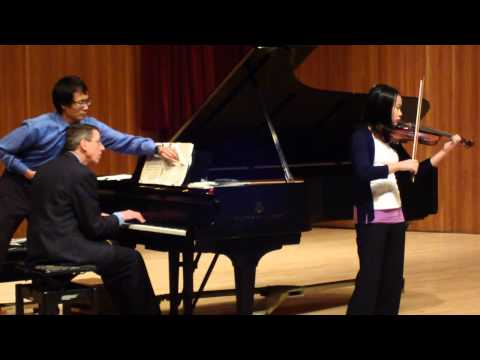 Alyssa November 2012 Handel Sonata in D Major 2nd Mvt