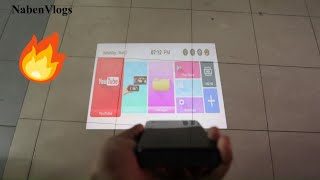Mini Smart Projector 😱 P09 Touch Panel 🔥 Unboxing & Video Test!!