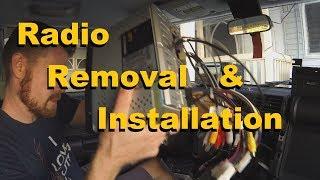 FJ Cruiser Radio Removal and Installation