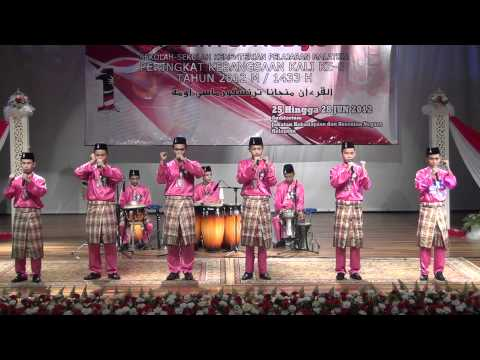 Festival Nasyid Sekolah-sekolah peringkat kebangsaan 2012 (SM) SABAH