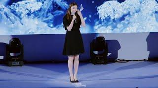 김연아 평창올림픽 이야기 Yuna Kim talking about pyeonchang olympics 2018 @ 아이스 페스타 in 경기 | Filmed by lEtudel