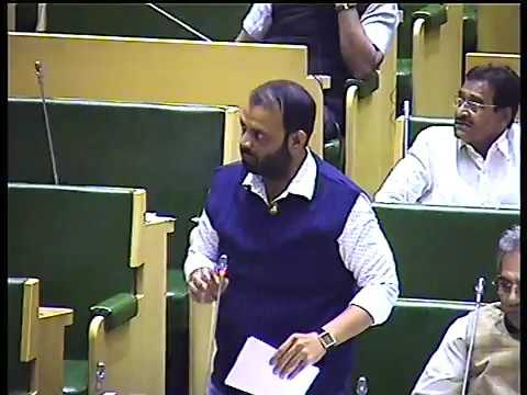 MLA Asif Shaikh Speech In Assembly House For Muslim Reservation 08-12-2016