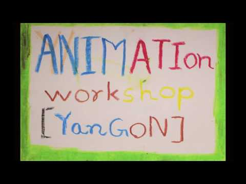 Yangon Abstract Animation