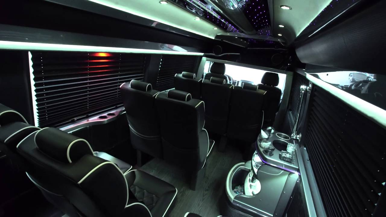 mercedes sprinter limousine youtube. Black Bedroom Furniture Sets. Home Design Ideas