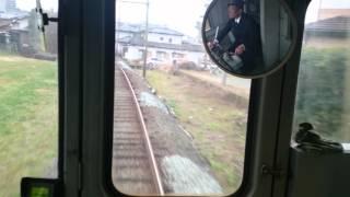 5000系列車 (通称:青ガエル) 最終日 (車内撮影) 打越駅→坪井川公園駅