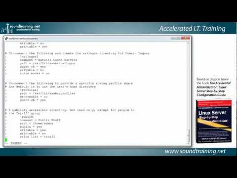 How to Set Up Samba for Windows-Linux File Sharing: Linux Server Training 101