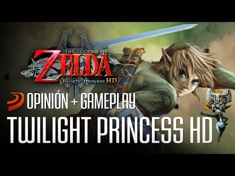 Zelda: Twilight Princess HD - Link, eres único!!! Opinión + Gameplay
